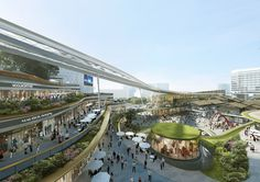 Gallery of Aedas Wins Competition for Dragon/Phoenix-Inspired Transportation Hub in Sanya, China - 9