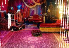 images from moulin rouge movie Movie Bedroom, Bedroom Scene, Bedroom Red, Bedroom Themes, Bedroom Decor, Moulin Rouge Movie, Le Moulin, Gothic Room, Episode Interactive Backgrounds