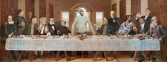 Scientists' Last Supper