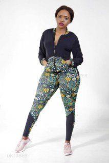 OKTOBER.CO.ZA - SPORT CALIGAN Parachute Pants, Harem Pants, Sportswear, African, Lingerie, Lady, Outfits, Clothes, Dresses
