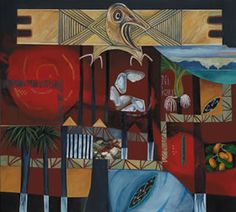 @gabrielle Belz - | Maori | Art | Painting | Kowhaiwhai |
