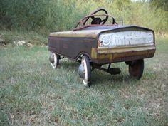 Vintage Pedal Car. $300.00, via Etsy.