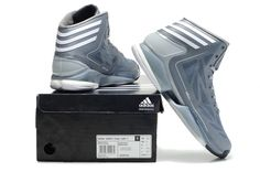 b4f18dcc53d9 Adidas adiZero Crazy Light 2 Dark Onix tech Grey White shoes