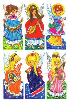 Victorian Scraps, Angels, England MLP 1480. Merry Little Christmas, Vintage Christmas, Vintage Baby Pictures, Vintage Bookmarks, Old Toys, Vintage Paper, Paper Dolls, Wool Felt, Childhood Memories