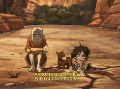 Avatar: The Last Airbender~~~~this is what happens when you leave him alone for a little bit