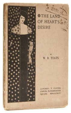 The Land of Heart's Desire, by William Butler Yeats. T. Fisher Unwin, 1894. First edition, Title illustration by Aubrey Beardsley