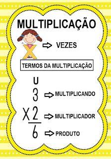Multiplication, Math, English Class, School Projects, Grammar, Professor, Teaching, Alice, Simple Math