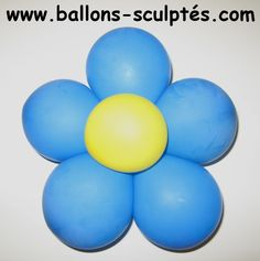 Ballons sculptés: Fleur avec des ballons ronds Crafts For Girls, Kid Crafts, Easter Eggs, Decoration, Balloon Flowers, Round Balloons, Make Flowers, How To Make, Birthdays