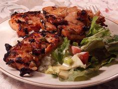 Thai Grilled Chicken Thighs. Gluten Free!