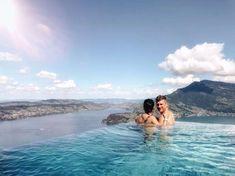 Buergenstock Resort Switzerland. Best outdoor pool views in Switzerland.