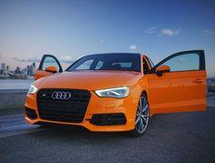 Glut Orange S3 | Audi Seattle | U District | Seattle, WA | AudiSeattle.com