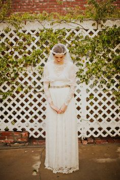 LongSleeved Lace Wedding Gown  Le Nouveau Gown  Made to by ktjean, $1080.00