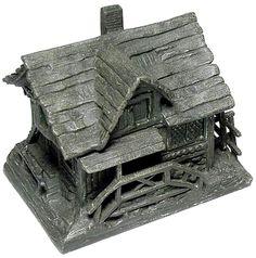 cast iron inkwell, 19th c.