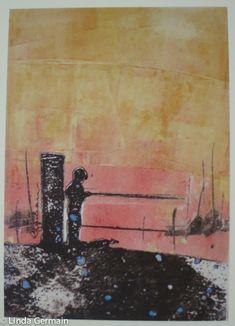 Mini fishing print - Linda Germain
