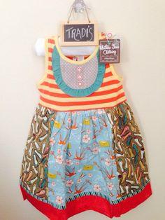 Check out this listing on Kidizen: Matilda Jane Ode To Shoes☀️ Tank Dress via @kidizen #shopkidizen