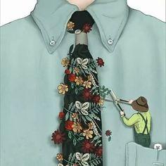 @nader.sharaf  نادر شرف | تصویرساز ساکن مادرید  https://www.instagram.com/nader.sharaf/  https://www.facebook.com/nadersharafillustration  https://www.nadersharaf.com/  Nader Sharaf | full-time freelance illustrator | currently living in Madrid.   #pluscreative #creativead #NaderSharaf #Gardner #tie #floral #gardening  #Artist #surreal #pocket #scissor #Illustration #Ilustrator   #کراوات #باغبان #گل #هرس #جیب #قیچی #باغبانی #هنرمند #خلاق #خلاقیت #تصویرساز #ایده #هنر #پلاس #تصویرسازی #نوآوری