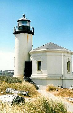 Coquille River Lighthouse,Bandon, Oregon and is of the Coquille River Lighthouse.