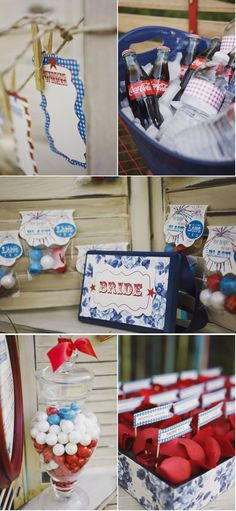 Fourth of July Photo Shoot by La Belle Fleur Wedding Designs & Events   Style Me Pretty