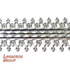 935 Sterling Silver Bezel wire, Gallery wire, Gallery ribbon - 4 inch (10 cm) #LangeronGroup