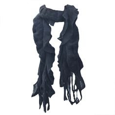 This double-layered scarf looks perfectly chic over a favorite tee or top. Bundle up without feeling bulky when you pop on this fun accessory.