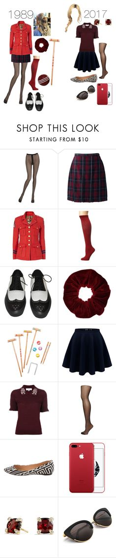 """""""Heather Chandler"""" by anonymous1211 ❤ liked on Polyvore featuring Emilio Cavallini, Lands' End, History Repeats, Wigwam, Comme des Garçons, Miss Selfridge, Sunnylife, Carven, Dorothy Perkins and Schutz"""