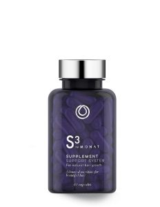 S3 Supplement Support System Works to help your inside be balanced so you can have fuller, longer hair. Improve your skin and nails!!! Why not?