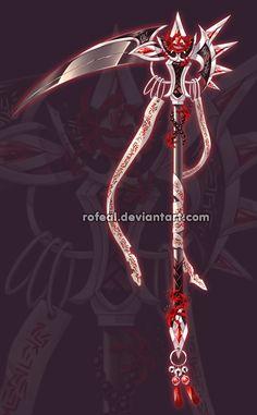 Commissions by Rittik-Designs on DeviantArt Ninja Weapons, Anime Weapons, Armas Ninja, Cool Swords, Sword Design, Weapon Concept Art, Magic Art, Fantasy Jewelry, Wands