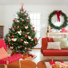 Einfache Tipps für die Dekoration des Weihnachtsbaumes - #Weihnachtsdekoration