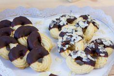 Ciasteczka maślane Food Cakes, Doughnut, Cake Recipes, Muffin, Cookies, Breakfast, Cakes, Crack Crackers, Morning Coffee