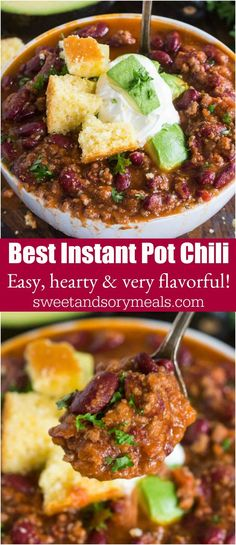 Instant Pot Chili is