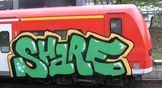 share graffiti train