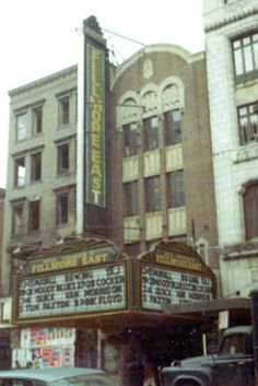 The Fillmore East was New York's hottest venue in the late '60s, with bills featuring a who's who of classic rock superstars: Jimi Hendrix, Jefferson Airplane, Led Zeppelin, Crosby Stills and Nash, The Allman Brothers Band, Pink Floyd, The Grateful Dead, Frank Zappa, King Crimson, John Lennon, Derek and the Dominos, Flying Burrito Brothers, and Van Morrison. The venue closed in 1971