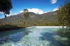 Relaxing on the water. #chapada #cavalcante #brasil