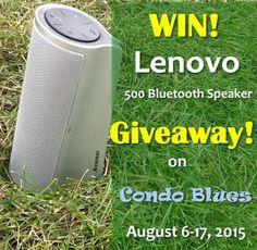 Lenovo 500 Bluetooth Speaker Giveaway!