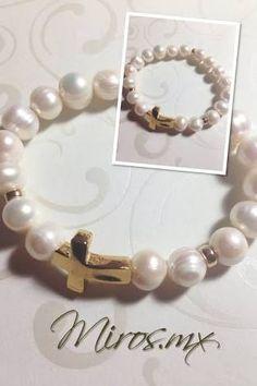 Resultado de imagen para perlas de rio con oro