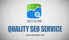 In recent years it has been clearly established that SEO optimization is one of the most efficient and cost effective means of Internet marketing. However, as a business owner you need to be able to scan the market to find Quality SEO Service for your website. Click this site http://seosubb.com/services/ for more information on Quality SEO Service.