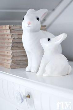 mye favorite fairytales + rabbit lamp