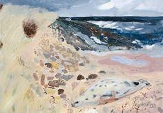 Cheviot from Lindisfarne. 25 x 22cm    mickandbrita.blogspot.com