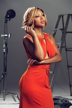 Meagan Good for RollingOut Magazine, July 2014