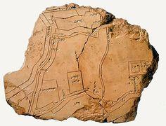 1.5.1 Spazio: Mappa della città di Nippur (ca. 1300 aC)