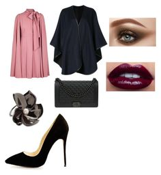 """""""night out"""" by explorer-15098277769 on Polyvore featuring Valentino, Sofiacashmere, Elizabeth and James and Chanel"""
