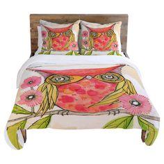 Adorable Owl Bedding.