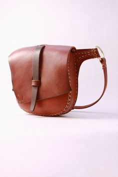 Leather hip bag. leather belt bag. leather fanny pack. leather hip pouch