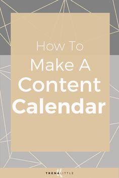 Creating a content calendar can save you so much time when it comes to  creating blog or video post ideas.  But how can you get started making a  content calendar?    In this video I'm sharing my content marketing tips on how I make a content  marketing plan that incorporates my business goals, launches and social  media content strategy!  This content strategy is especially helpful in you  are thinking about starting a Youtube channel or planning a Youtube  channel.    This is the exact…