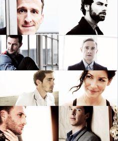 Adam Brown, Aidan Turner, Richard Armitage, Martin Freeman, Lee Pace, Evangeline Lily, Dean O'Gorman and Benedict Cumberbatch