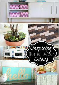 52 Mantels: 16 DIY Home Decor Ideas! {features}