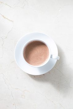 Homemade Almond Milk Spicy Hot Cocoa // Guilt-Free Chocolate Desserts