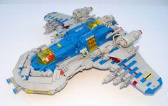 Big LEGO starfighter