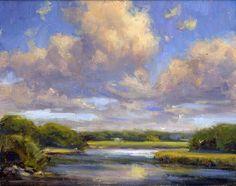 Near the Shoreline - Malerei Kunst Paintings I Love, Nature Paintings, Landscape Paintings, Landscape Concept, Abstract Landscape, Impressionist Landscape, Lake Painting, Arte Floral, Art For Art Sake