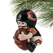 Chicago Bears Lil' Fan Football Player Acrylic Ornament #fanatics